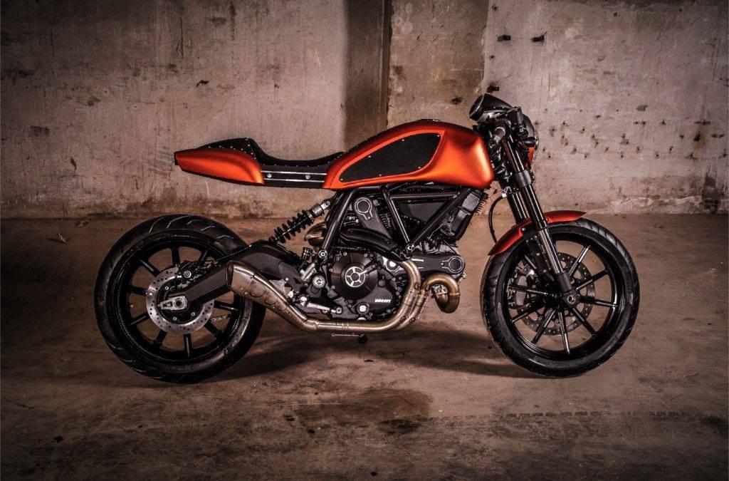 Umbau Ducati Scrambler zum Cafe Racer
