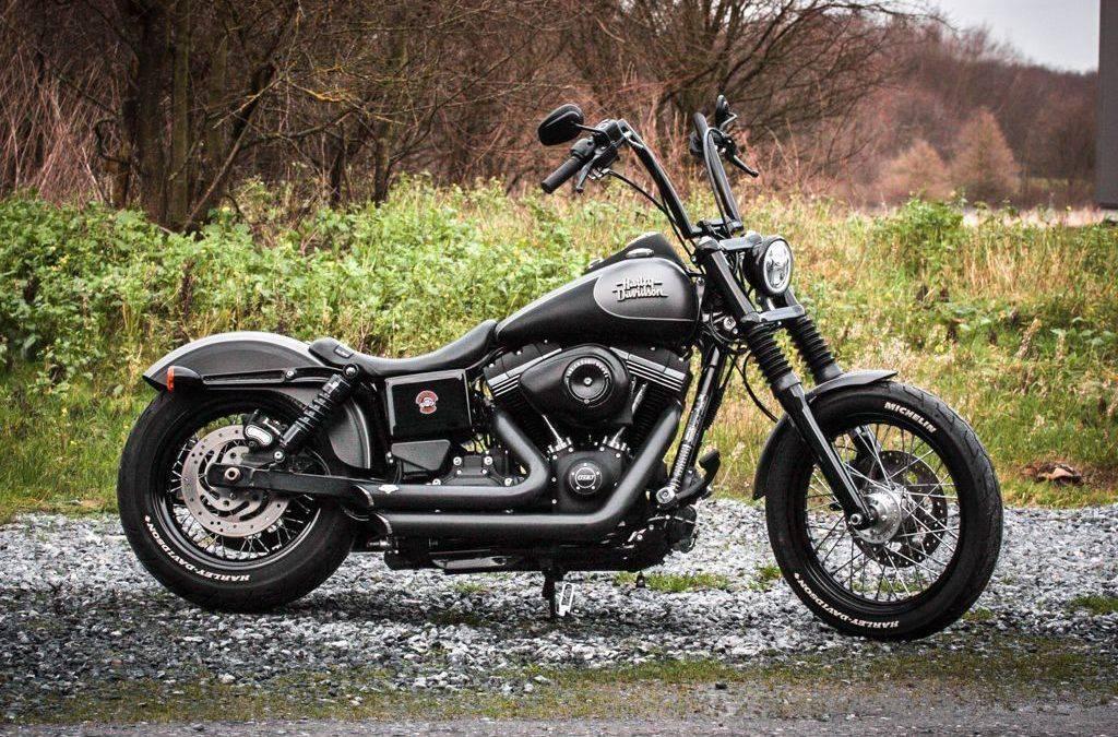 Umbau Harley Davidson Street Bob