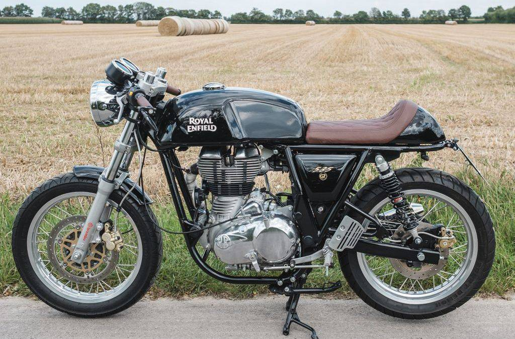 Umbau Royal Enfield Continental GT