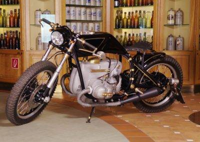 Umbau Harley Davidson Night Rod