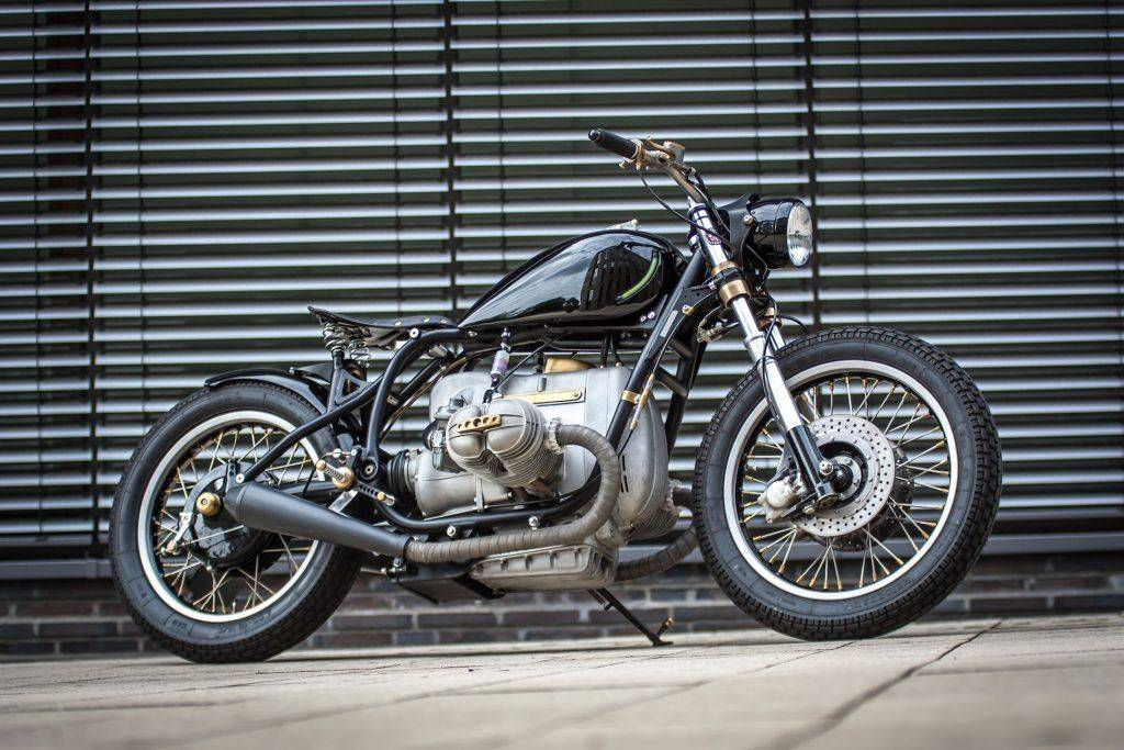 kompletter Umbau des edlen BMW R100 RS Starrahmen Motorrad in Oelde