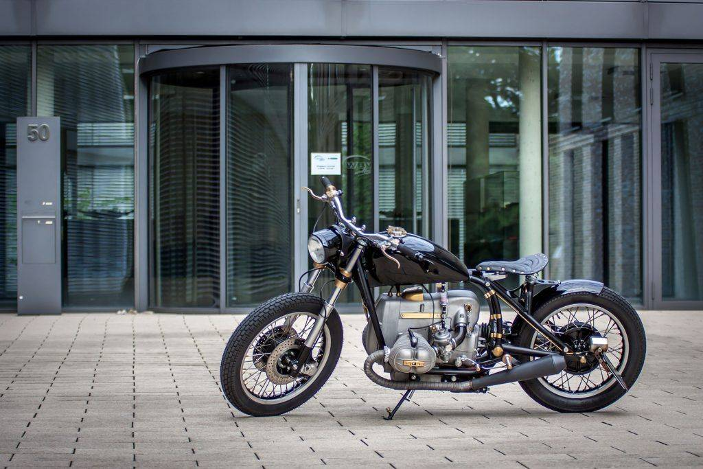sorgfältiger Umbau des BMW R100 RS Starrahmen, Bike für Leichtigkeit beim fahren in Kreis Warendorf