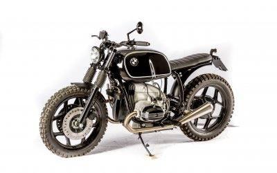 Eine  BMW R100 für den Harleyschrauber