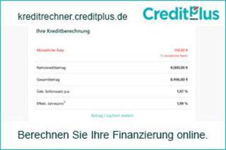 Einfache Finanzierung mit Credit-plus