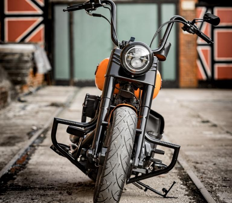Umbau Harley Davidson Fatboy
